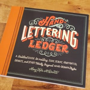 Hand-Lettering Ledger Guide Book